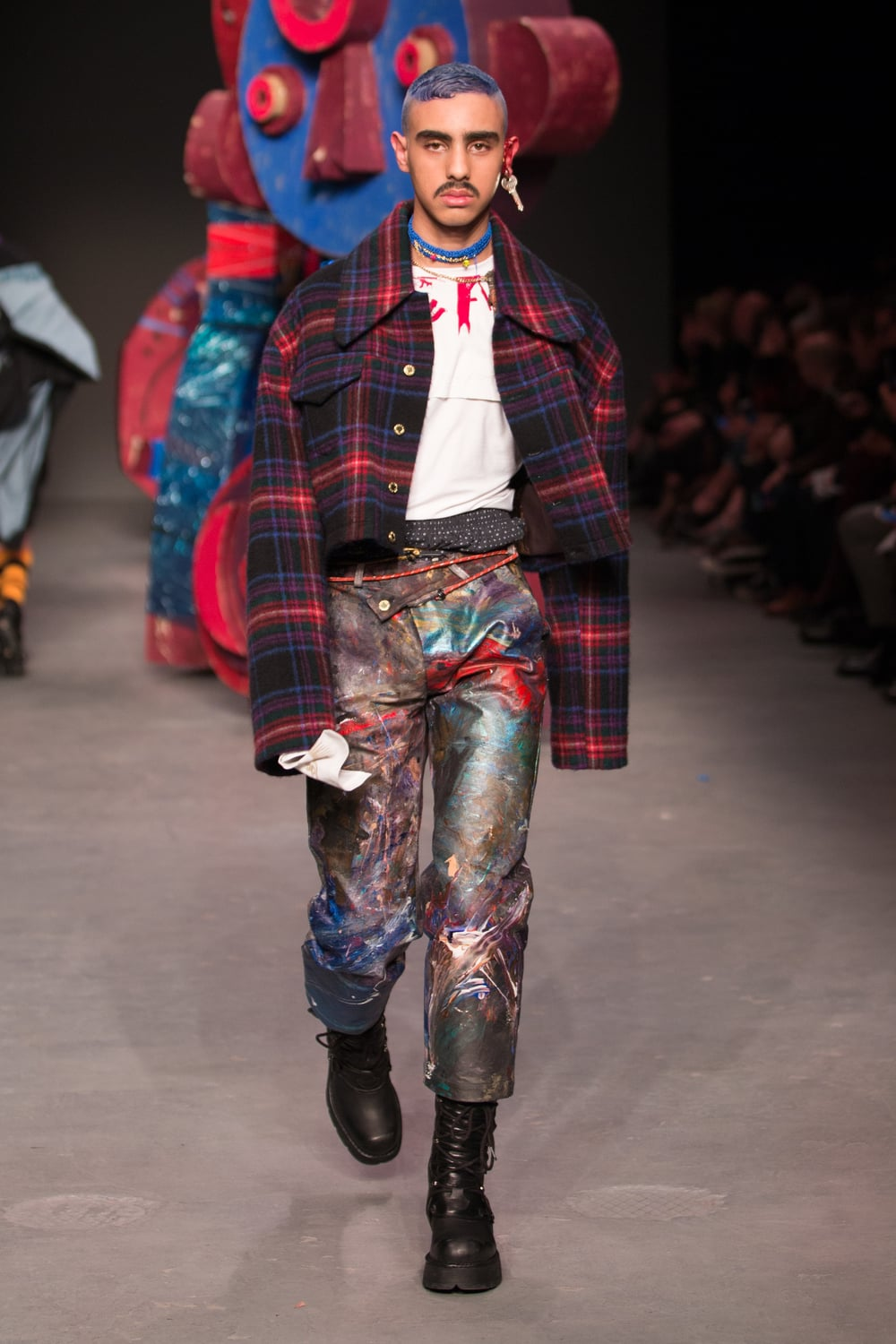 Charles Jeffrey Loverboy at MAN AW16 Show, London Collections Men