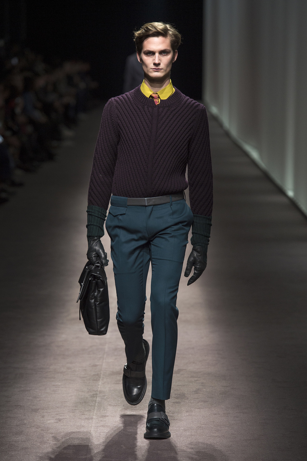 Canali Men's FW16 at Milan Fashion Week