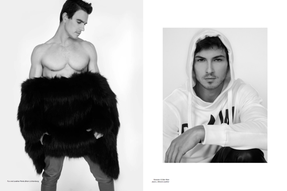 Josh Kloss and Rob Wilson by Scott Hoover for Rhea Magazine
