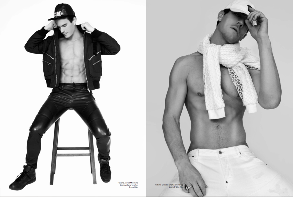 Josh Kloss by Scott Hoover for Rhea Magazine