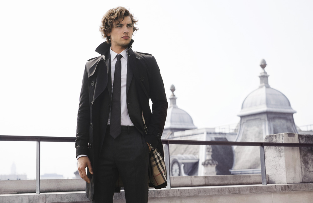 Josh Whitehouse for Mr Burberry