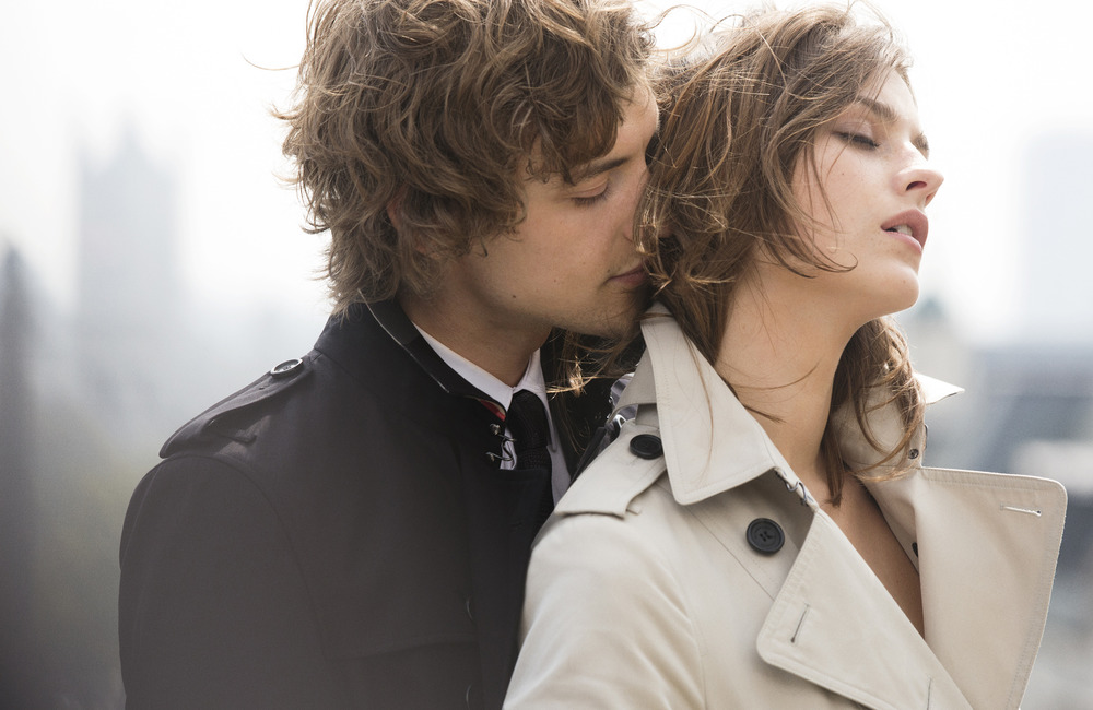 Behind the scenes at Mr Burberry Campaign Shoot