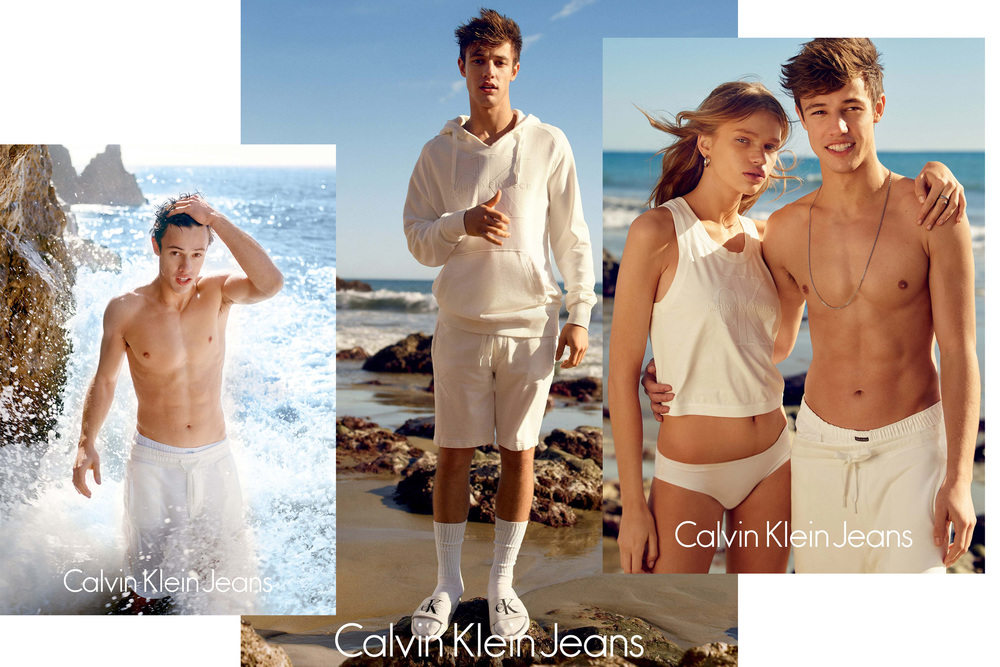 Cameron Dalls for Calvin Klein 2016
