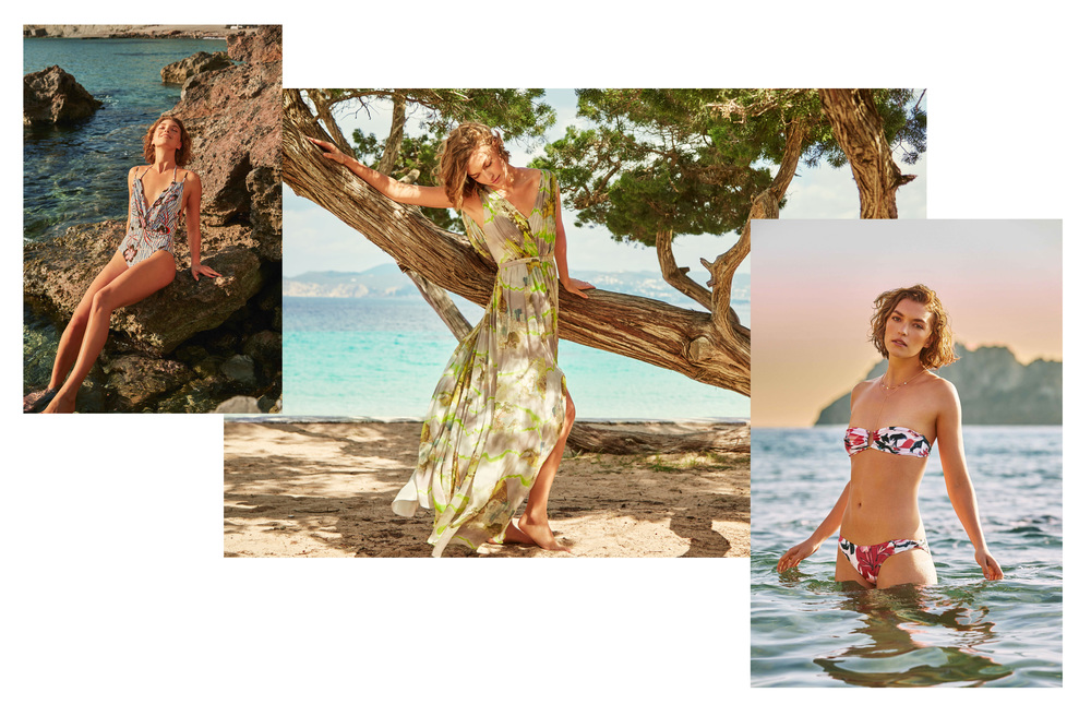 Matthew Williamson exclusive for The Outnet featuring Arizona Muse