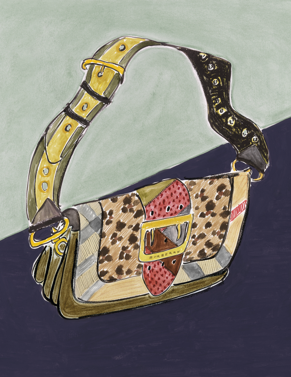 Illustration of The Patchwork by Luke Edward Hall for Burberry - on embargo until 31 May, 8AM UK time_002.jpg