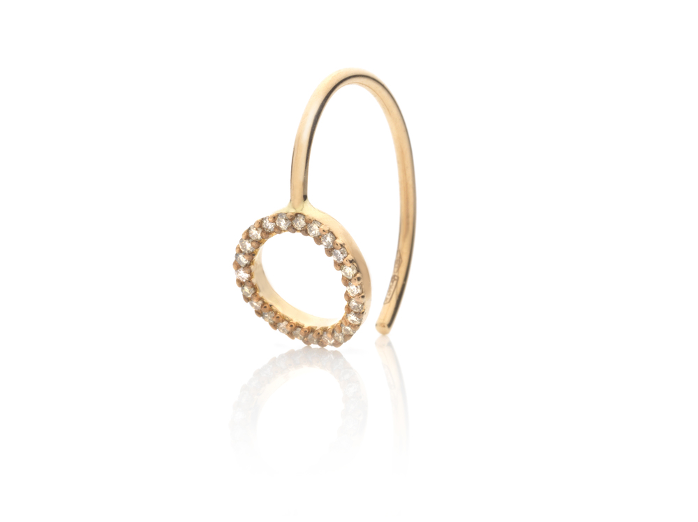 Alexia Jordan Eternity Earring 18Kt Rose Gold and Brown Diamonds £630 each www.alexiajordanjewellery.com.jpg