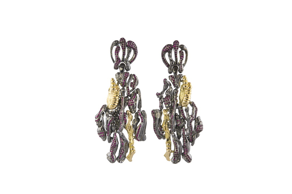 STALACTITES, earrings, Garden of Earthly Delights collection, Gaelle Khouri.jpg