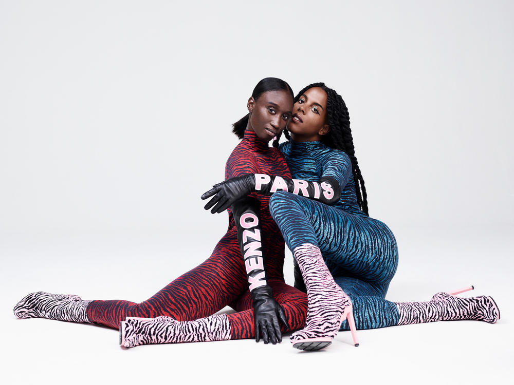 Amy Sall and Juliana Huxtable for Kenzo X H&M