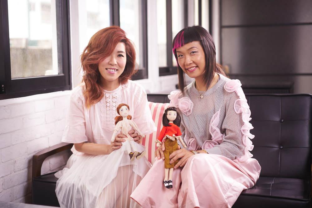Maria Tang and Johanna Ho