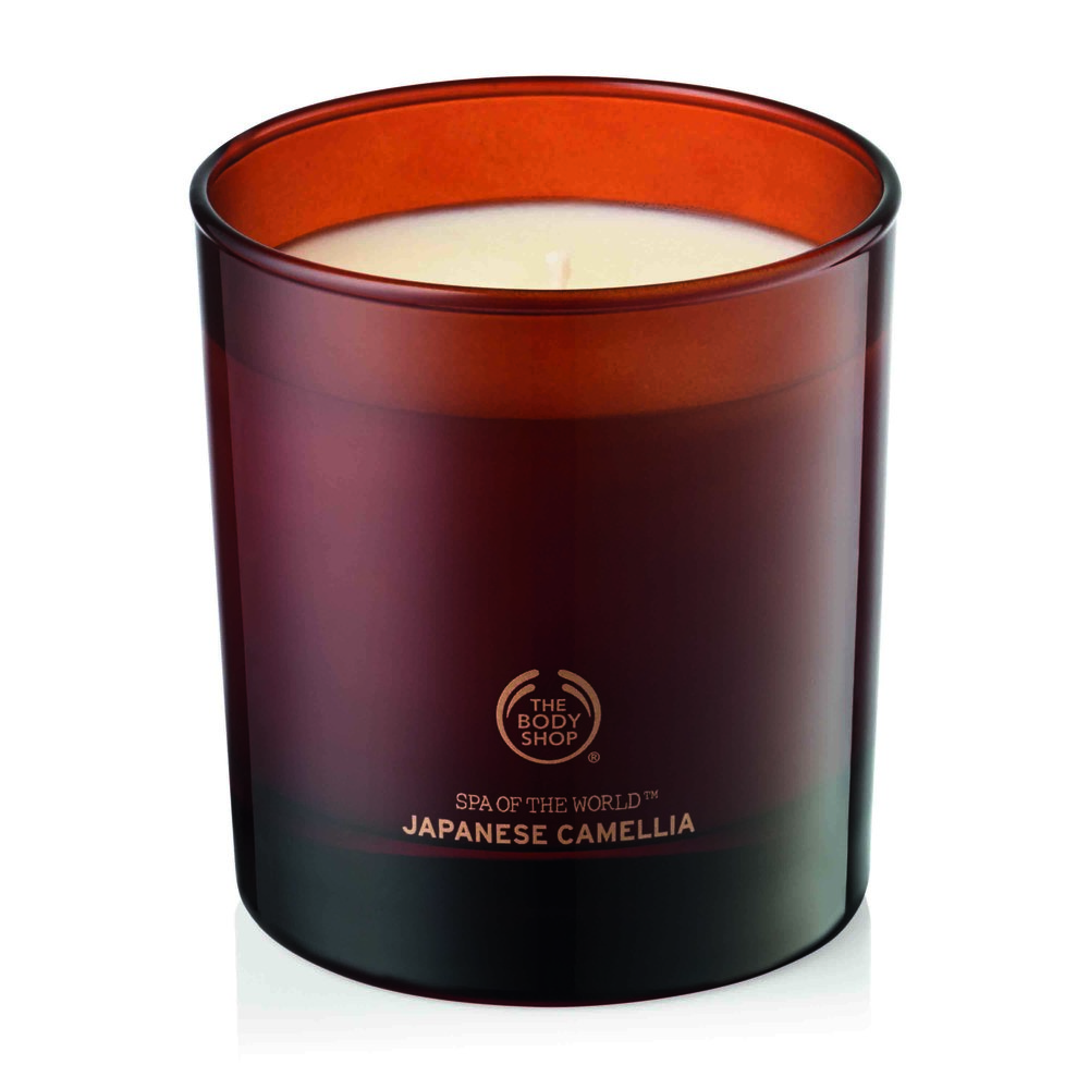 Japanese Camellia Scented Candle by The Body Shop