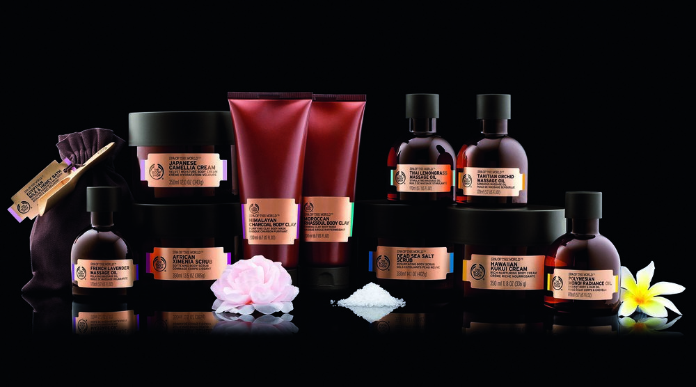 The Body Shop Spa of the World Collection