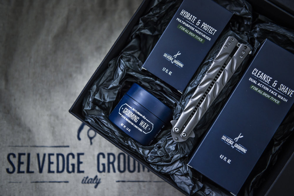 Selvedge Grooming Christmas Gift Set