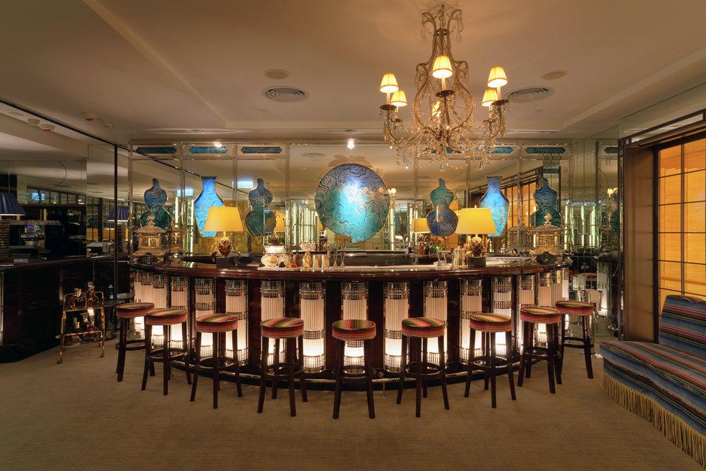 The Bar at China Tang, photo courtesy of Lai Sun