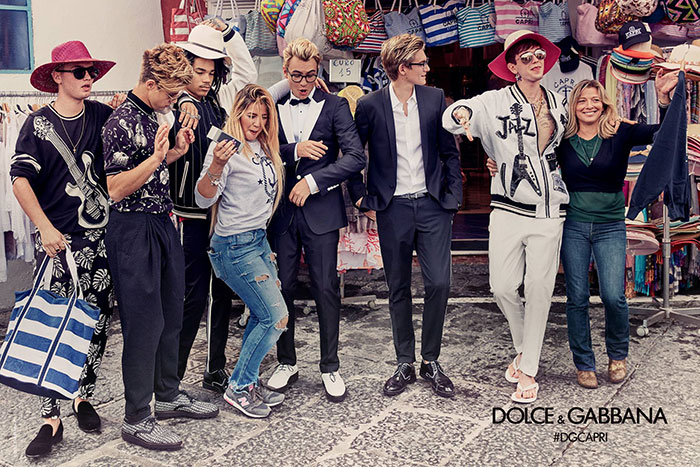 Dolce & Gabbana SS17 by Franco Pagetti