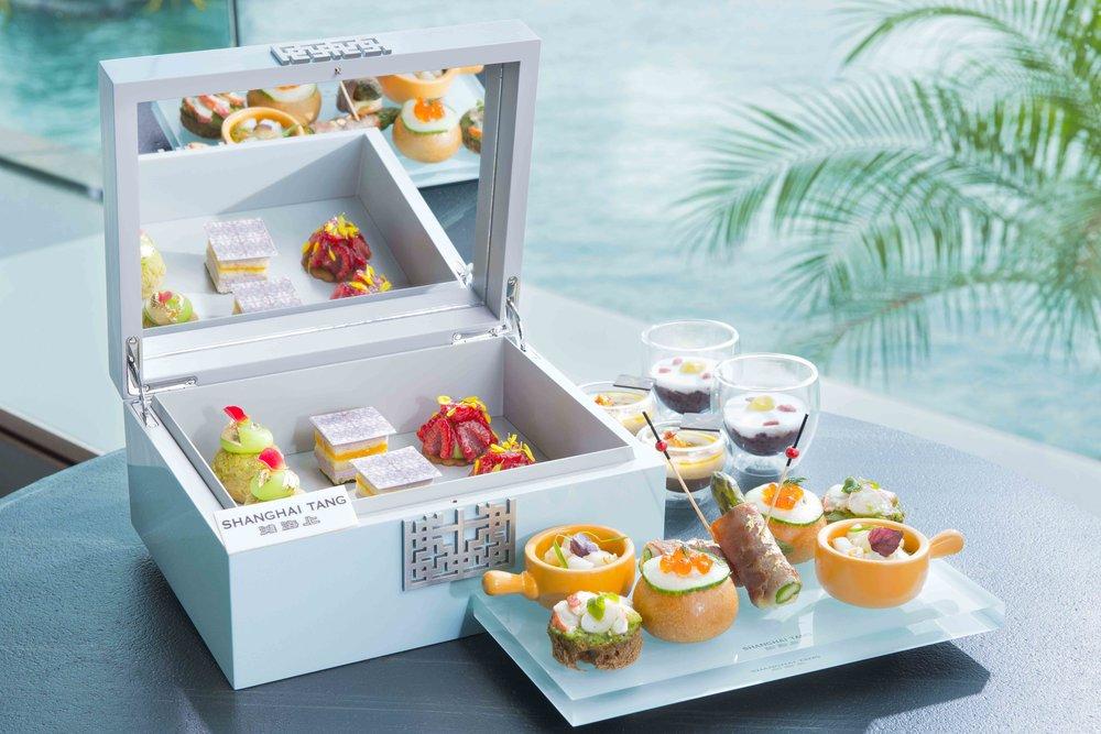 InterContinental Hong Kong X Shanghai Tang Afternoon Tea Set