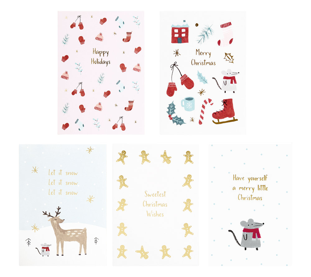 Rhea this years cutest christmas cards available online and in store you can get a single cheeky greeting card from hk37 or a 10 pack with super cute animal designs from hk110 the selection m4hsunfo