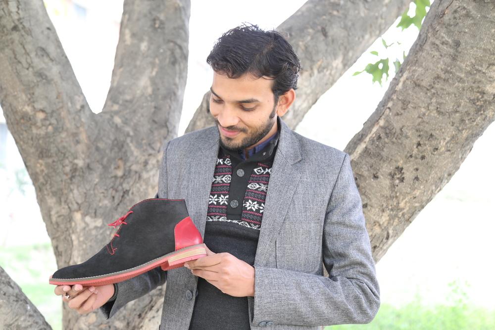 Meet Yuvraj, heart of the footwear development team.