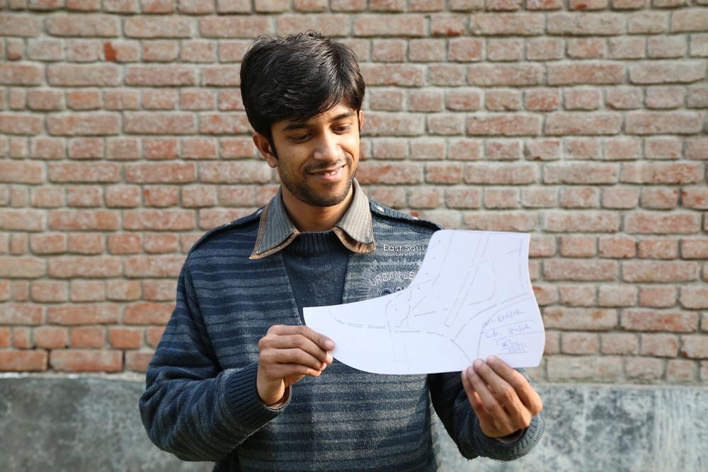 Meet Shekhar, pattern maker & cowboy boot whiz.