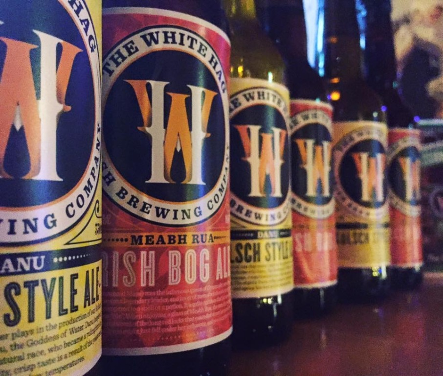 We also have Koslch Style Ale &Irish Bog Ale. Check out more at http://thewhitehag.com.