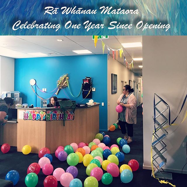 Happy birthday to us! One year today! Thank you everyone got all your support over the last year. We celebrated today as usual, working ....with lots of balloons and decorations ...and a slice of cake or two.