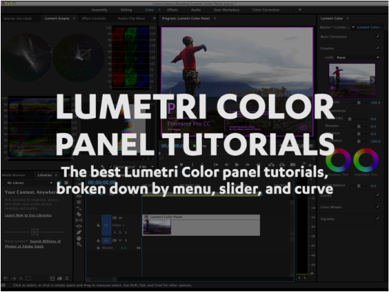 Lumetri Color Panel Tutorials — Premiere Bro