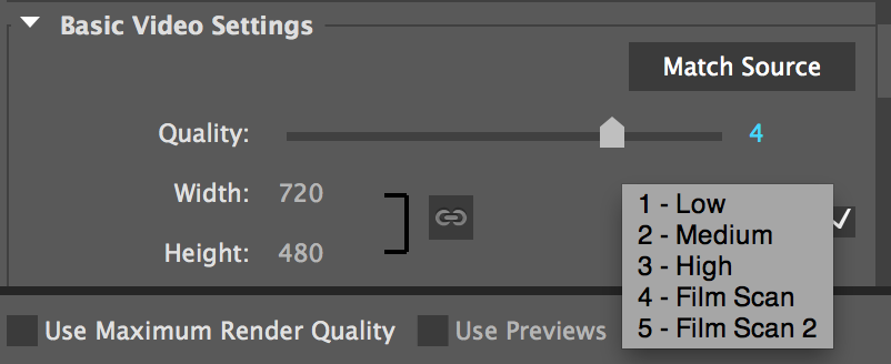 GoPro Cineform quality settings in Premiere Pro