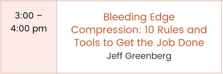 Go to  Jeff Greenberg's bio