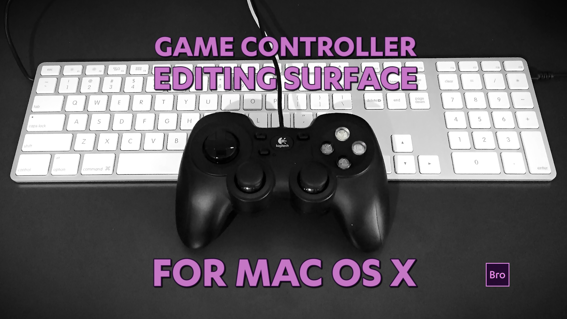 Game Controller Editing Surface for Mac OS X — Premiere Bro