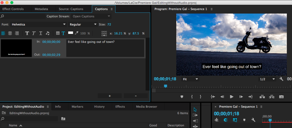 How to edit open captions in premiere pro cc 20153 premiere bro caption adjust timecodes premiere pro ccuart Choice Image