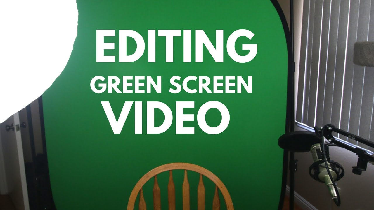 Editing Green Screen Video in Adobe Premiere Pro — Premiere Bro