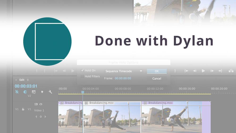 Adobe Premiere Pro: Your Freeze Frame Options — Premiere Bro