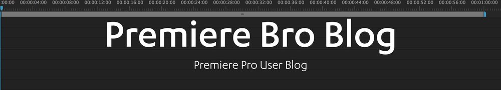 The Premiere Pro user blog
