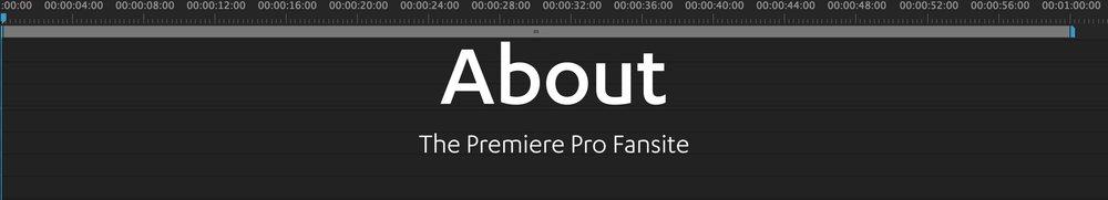 Premiere Pro fansite