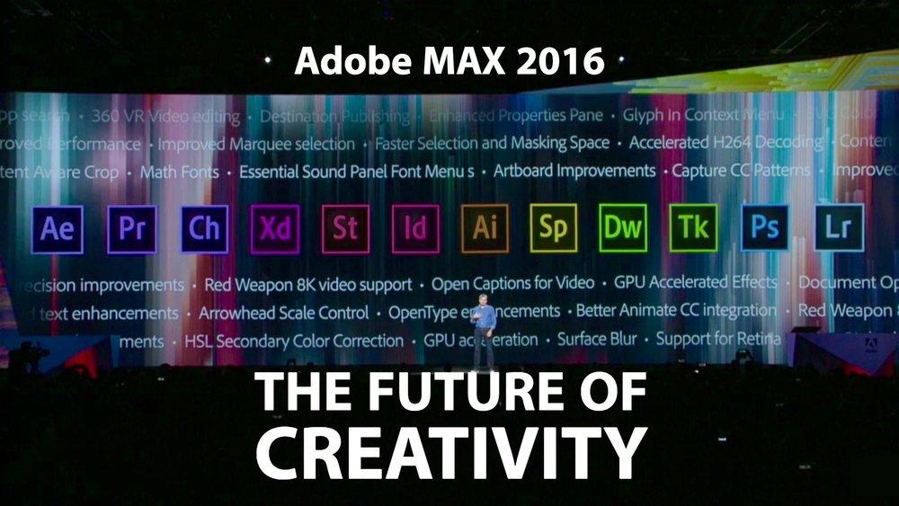 adobe-max-2016-the-future-of-creativity