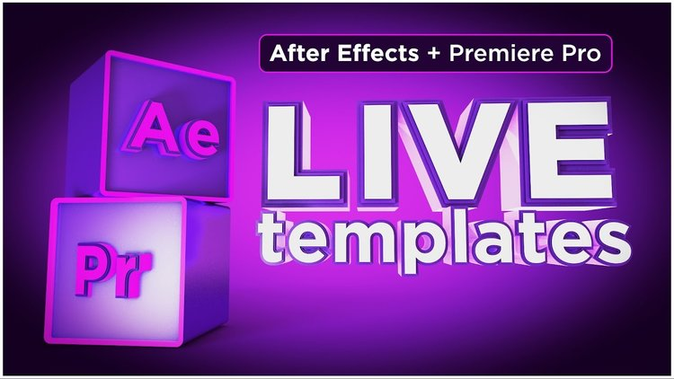 Motion Tutorials: Live Text Templates with After Effects & Premiere ...