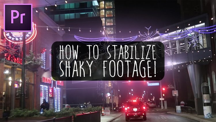 VENTURESOME: How To Stabilize Shaky Footage in Premiere Pro
