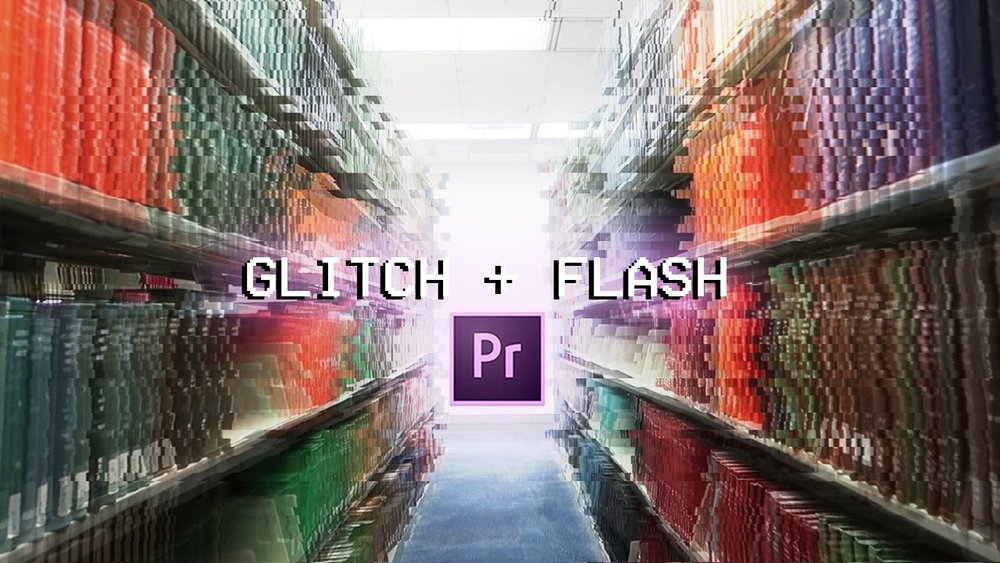 Justin odisho: how to create a glitch + flash video transition.
