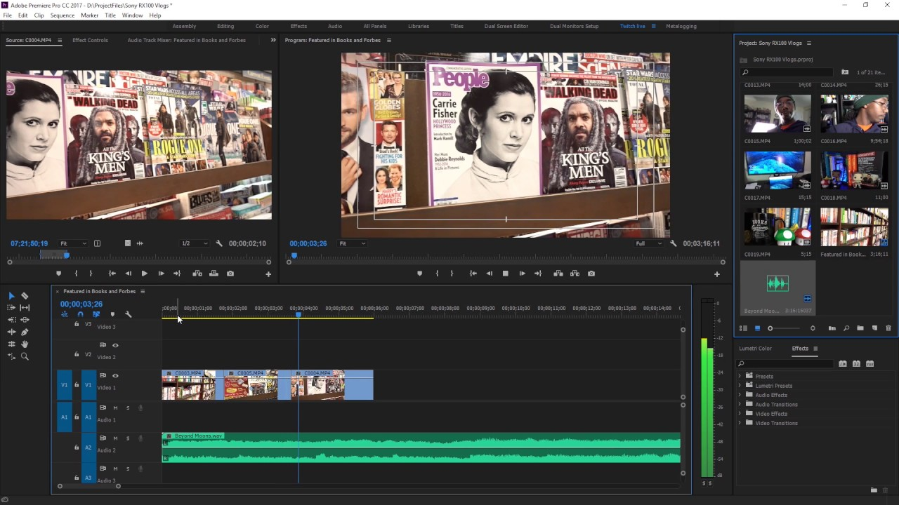 Roberto Blake: Video Editing Tutorial: How To Edit A Vlog In Premiere Pro,