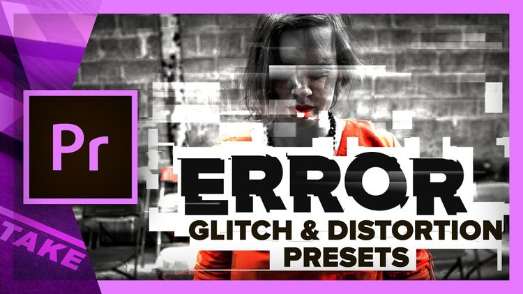Orange83: 6 Free Glitch Transition Presets for Premiere Pro