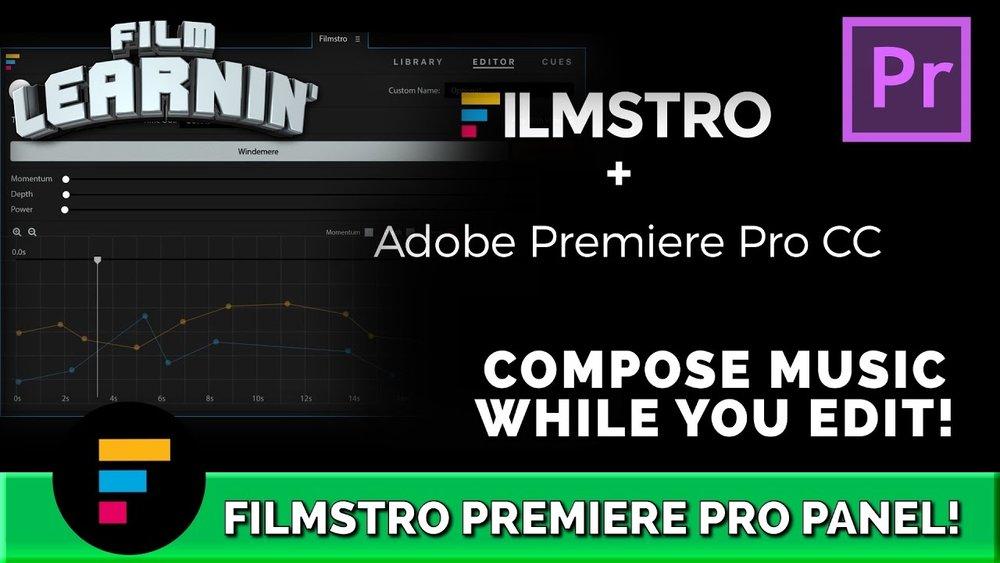 Lone Archer Films: Filmstro Panel Compose Music in Premiere Pro