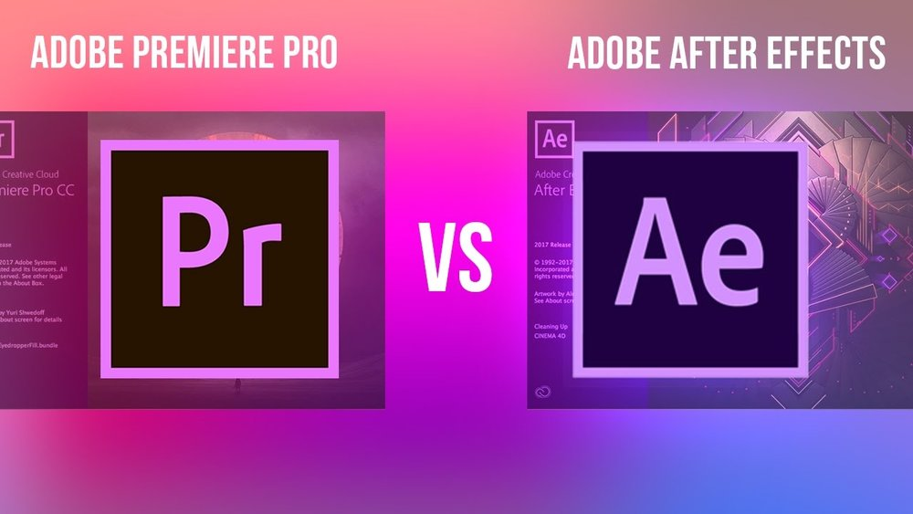 justin odisho adobe premiere pro vs after effects cc what s the