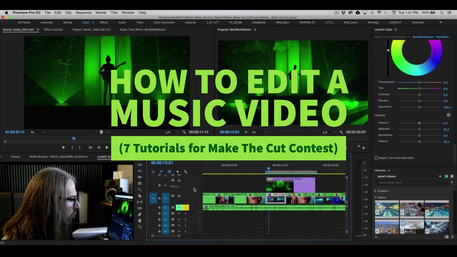 How to Edit a Music Video (7 Tutorials for Make The Cut