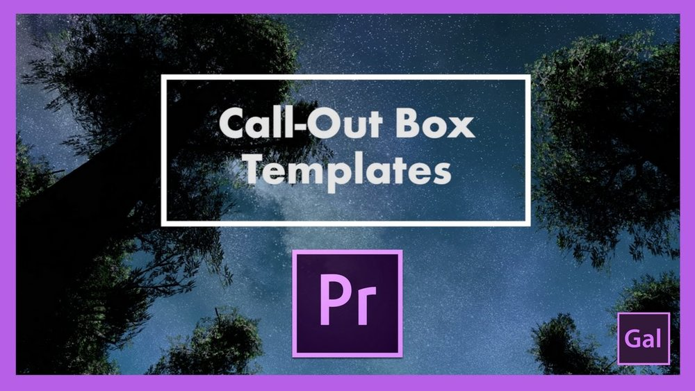 Premiere Gal Free Call Out Box Templates For Premiere Pro