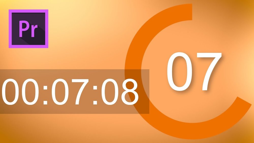 orange83 add an animated timer and countdown to your videos in