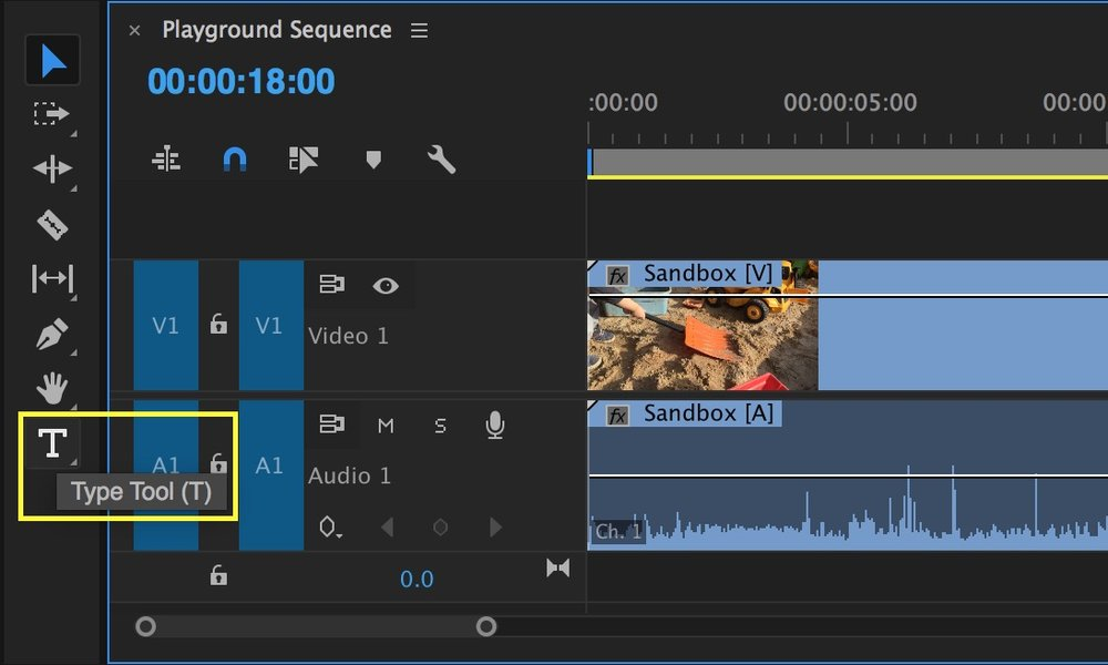 Create titles with the new type tool and essential graphics panel in type tool premiere pro ccuart Choice Image