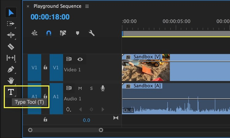 Create titles with the new type tool and essential graphics panel in type tool premiere pro ccuart Images