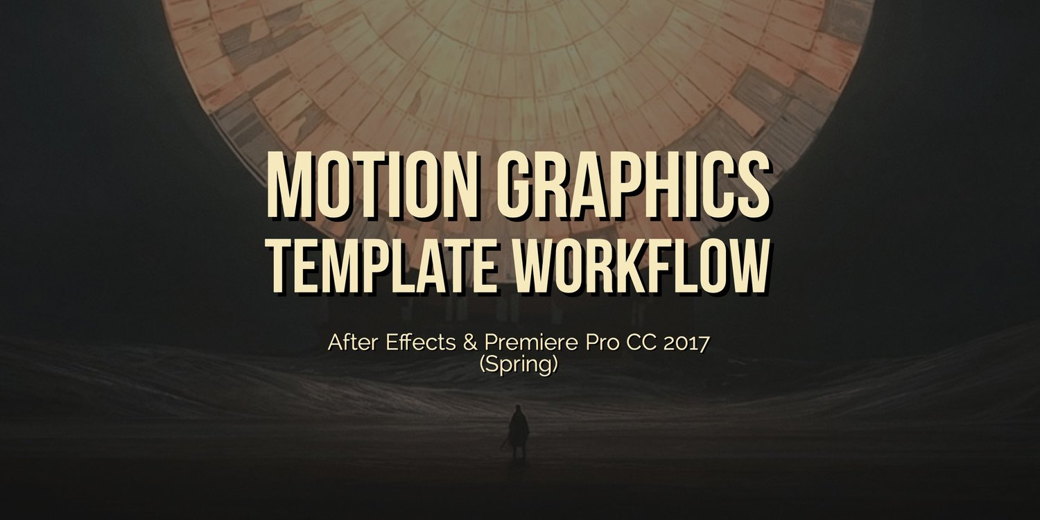 adobe after effects motion graphic template download
