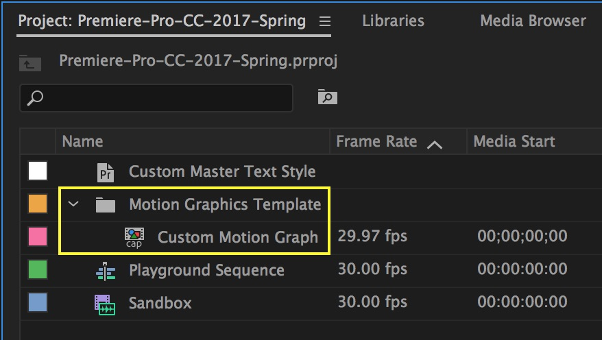 motion-graphics-template-project-panel-premiere-pro