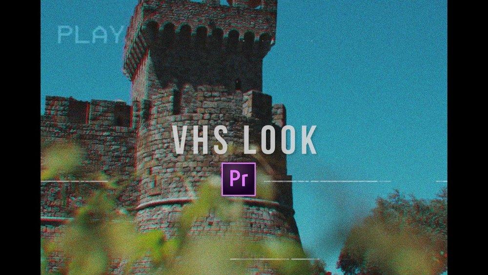 FilmVentureStudios: VHS Camera Look in Premiere Pro