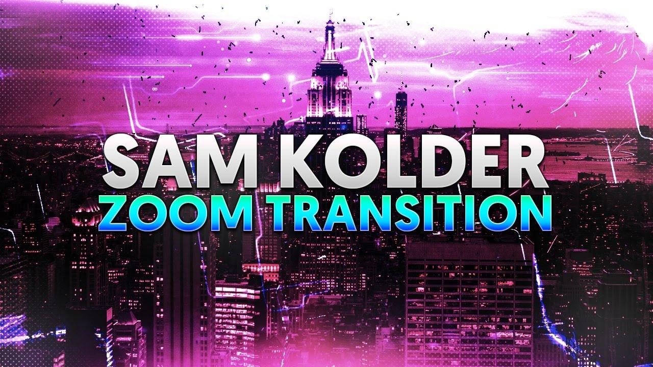 CasualSavage: Sam Kolder Zoom Transition in Adobe Premiere Pro CC